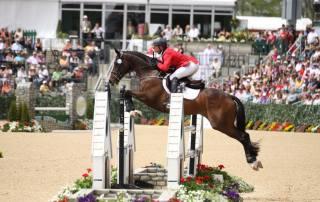 Horses of Cavalor Mensa G Show Jumping